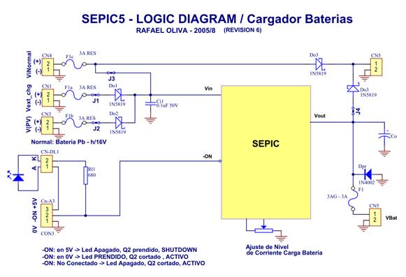 Figure 3.9 – UPS-CC for 2 A / 12 Vcc with SEPIC (LT1513-2) charger.